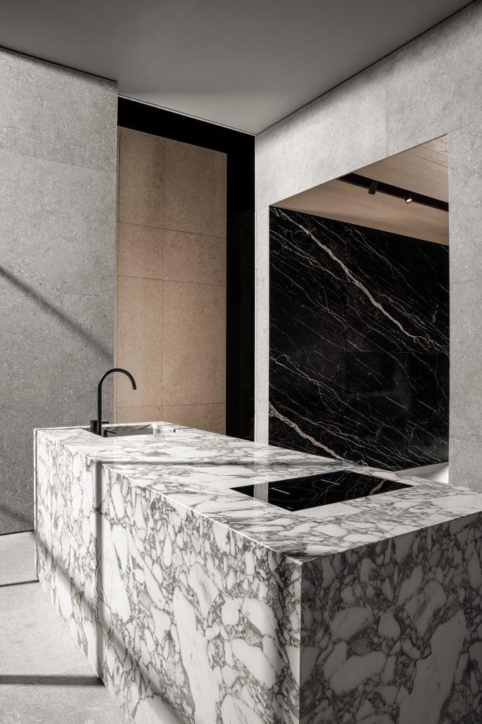 cuisine en marbre