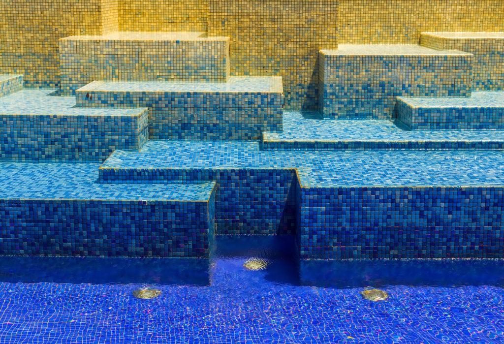 mosaique pour piscine